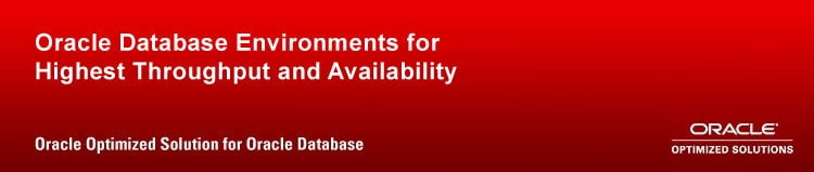 Oracle Optimized Solution for Oracle Database