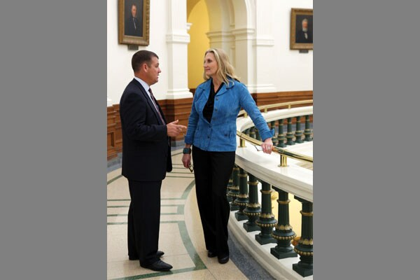 Karen Robinson, Executive Director, Texas Department of Information Resources, and CIO, State of Texas, and Carl Marsh, COO, Texas Department of Information Resources