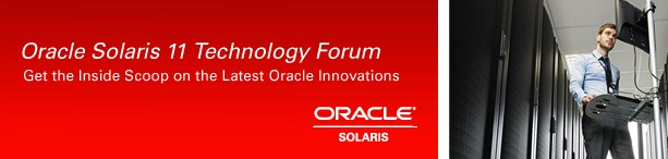 Oracle Solaris 11 Technology Forum. Get the Inside Scoop on the Latest Oracle Innovations. Oracle/Solaris
