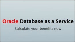 Oracle Database as a Service Business Value Tool