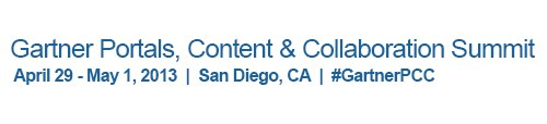 Oracle Sponsors Gartner Portals, Content & Collaboration Summit - San Diego