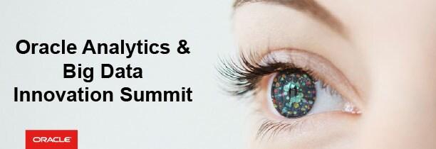 Oracle Big Data Innovations Summit