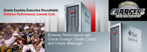 Join Oracle for a Day of Extreme Performance and  the San Diego Chargers!