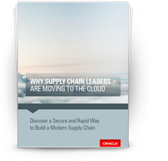E-Book: Why Supply Chain Leaders are Moving to the Cloud