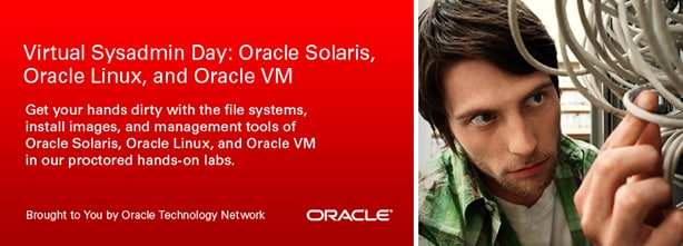 Join us! Virtual Sysadmin Day: Solaris, Linux, and Virtualization