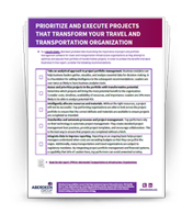 Checklist: 5 steps to enable transformative projects