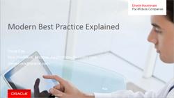 E-Book: Modern Best Practice Explained