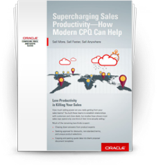 Executive Brief: Supercharging Sales Productivity—How Modern CPQ Can Help