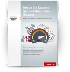 Executive Brief: Bridge the Systems Gap and Drive Sales Success