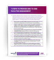 7 Steps to provide end-to-end Facilities Management