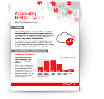 Accelerating EPM Deployment with Planning in the Cloud white paper