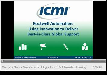 Webcast: Customer Service Success in High Tech & Manufacturing