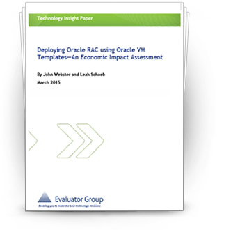 Deploying Oracle RAC using Oracle VM Templates