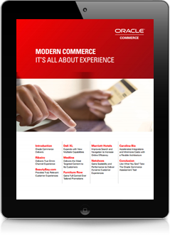 Modern Commerce, Higher ROIIt's All About Experience