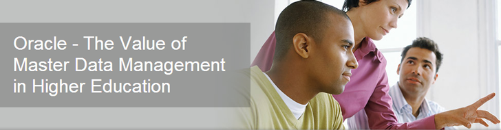 Oracle - The Value of Master Data Management in Higher Education