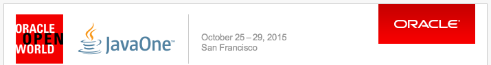 Oracle OpenWorld 2015 - JavaOne 2015
