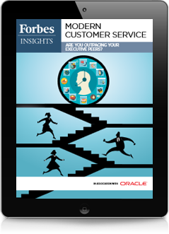 Forbes Insights: Modern Customer Service: Are You Outpacing Your Executive Peers?