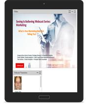 Seeing is believing webcast Marketing