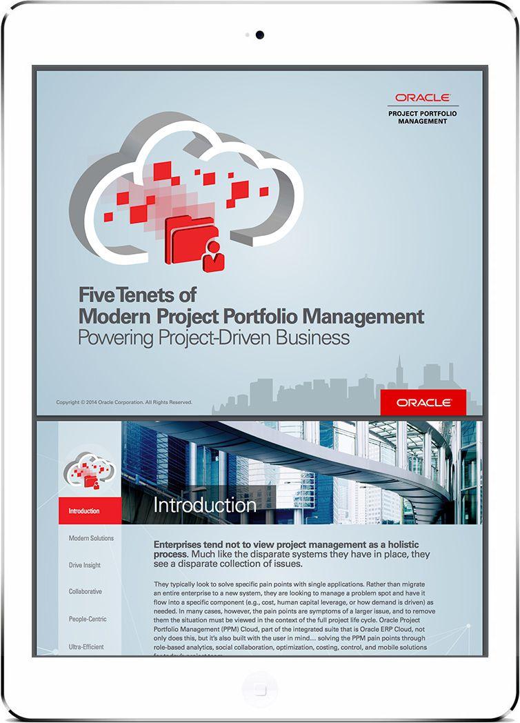 Five Tenets of Modern Project Portfolio Management