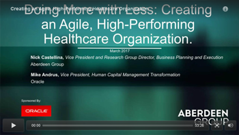 High Performing Healthcare Organization