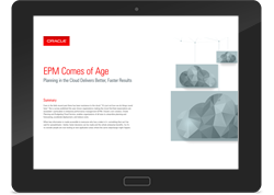 EPM Cloud Services