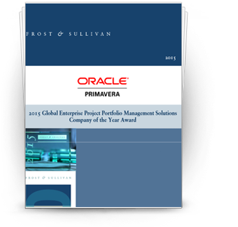 Oracle is recognized with Frost & Sullivan's 2015 Global Company of the Year Award