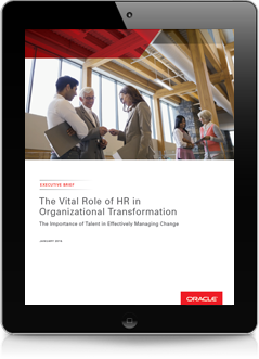 The Vital Role of HR in Business Transformation