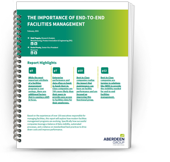The importance of end-to-end Facilities Management