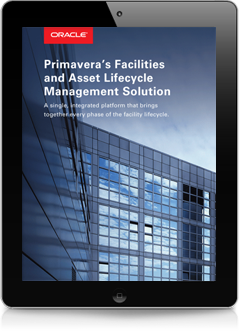 Oracle's Primavera Facilities and Asset Lifecycle Management eBook