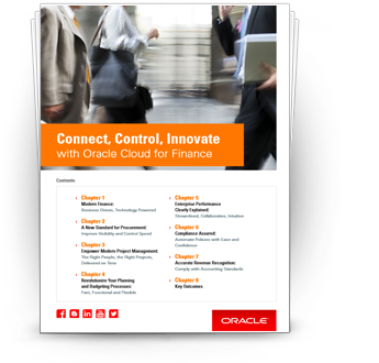Connect, Control, Innovate with Oracle Cloud for Finance