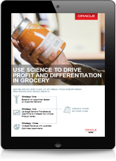 Use Science to Drive Profit and Differentiation in Grocery