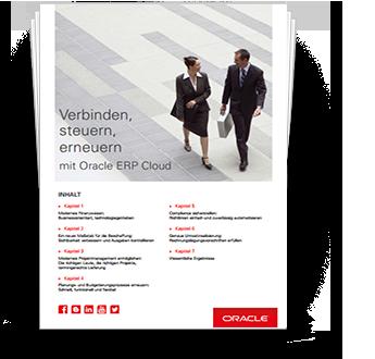 Verbinden, steuern, erneuern mit Oracle ERP Cloud