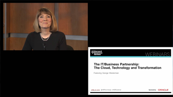 Harvard Business Review Webcast