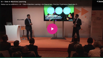 IA : quelles technologies pour le futur de l'expérience client ? - Oracle MBX Paris