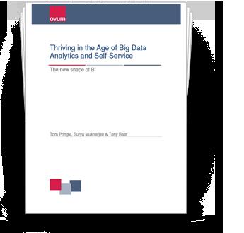 Big Data Analytics and Self-Service