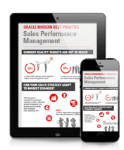 ORACLE MODERN BEST PRACTICE Sales Performance Management Infographic