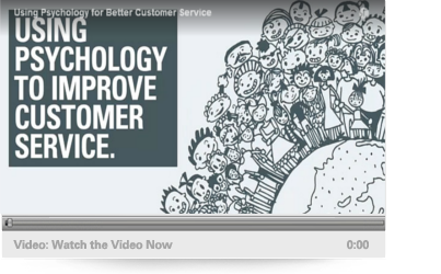 Discover how using customer psychology delivers better service