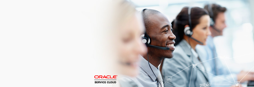 Oracle Service Cloud Cross-Channel Contact Center