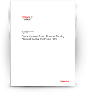 Align Your Financial and Project Plans with Oracle Hyperion